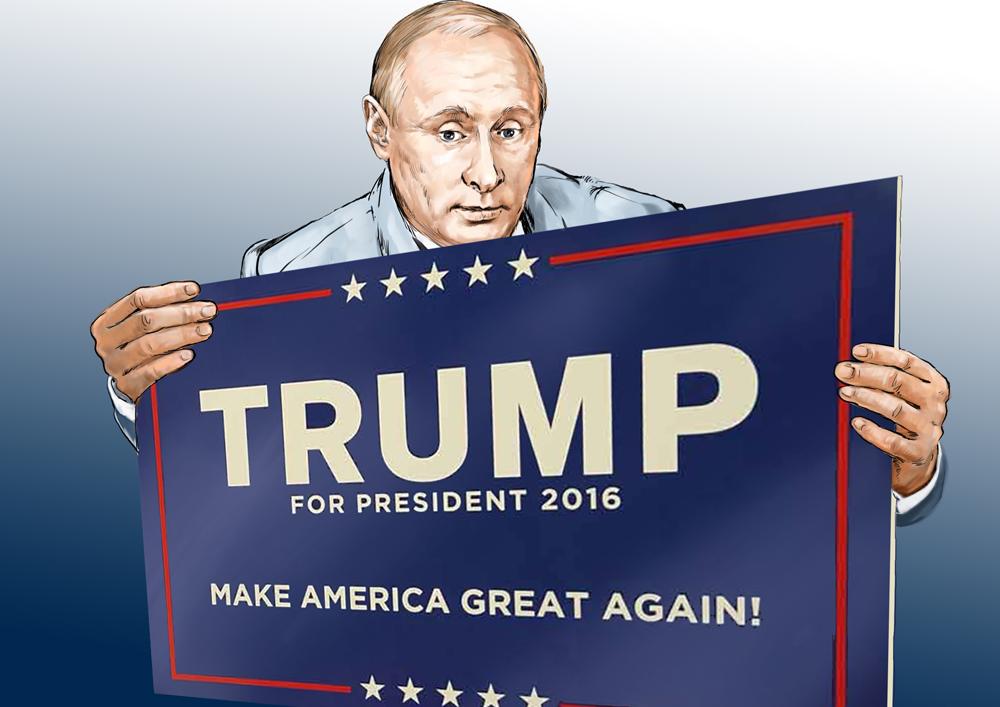 Os prós e os contras de Trump para a Rússia width=