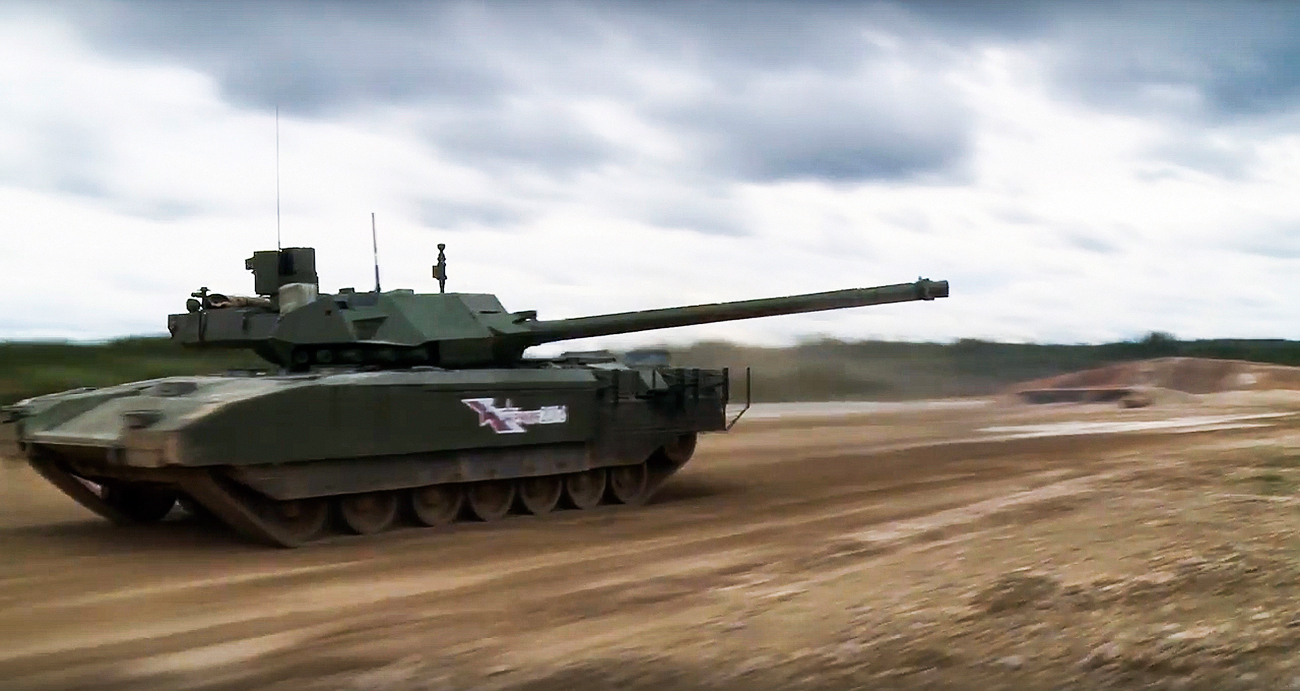 VIDEO: Aksi Tempur Tank Armata