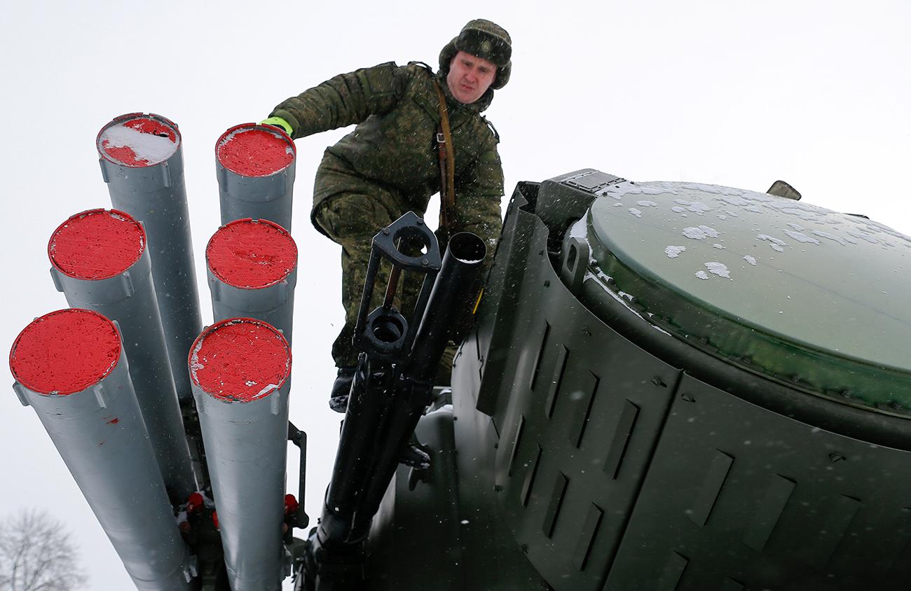 O invisível escudo que protege Moscou width=