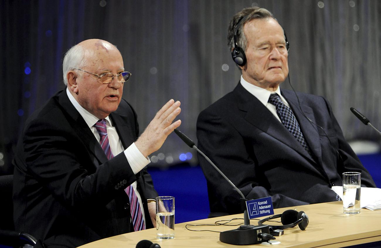 Gorbachev dan George Bush Sr. Ingin Perbaiki Hubungan Rusia-AS