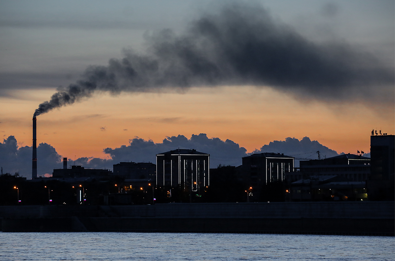 Filtros desenvolvidos em Moscou usam luz para purificar ar width=