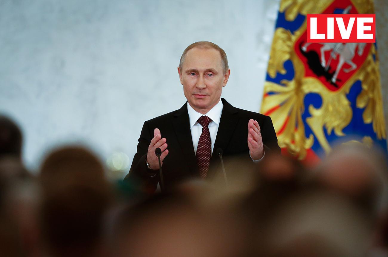 Putin kepada Pemerintah: Jangan Cuma 'Bersembunyi' di Balik Meja Anda
