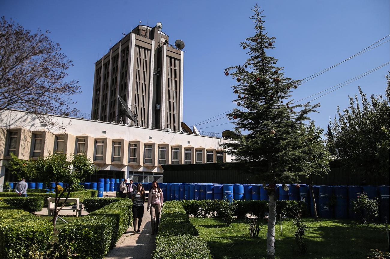Kedutaan Besar Rusia di Damaskus Diserang Mortar