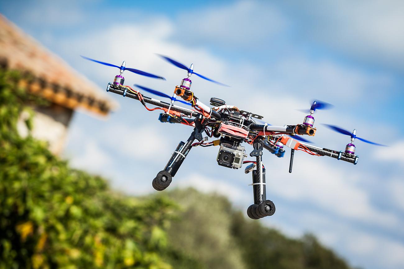 Mahasiswa Rusia Kembangkan Drone yang Bisa Dioperasikan dengan Kaki