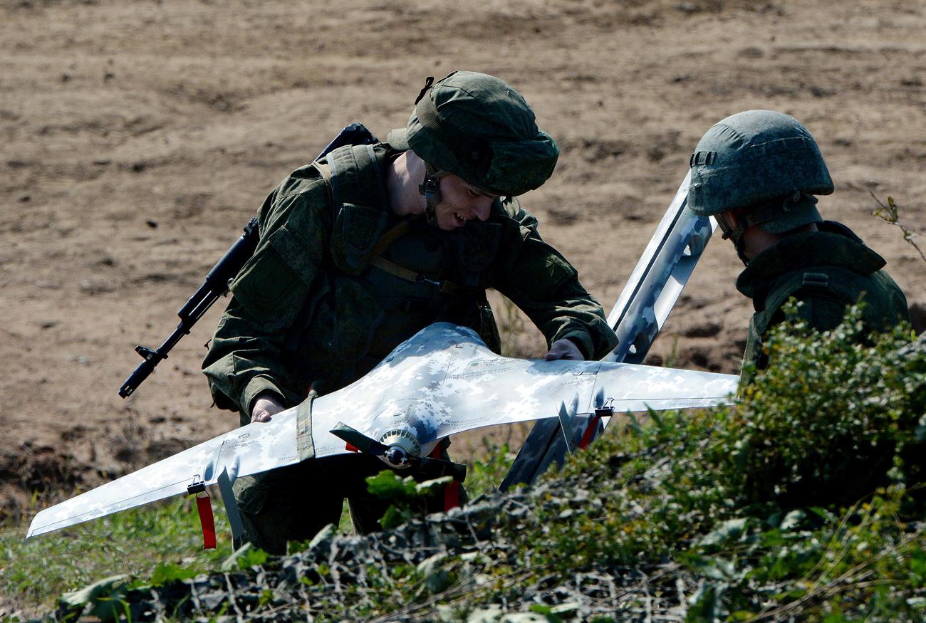 Drone Canggih Rusia: Jelajahi Arktik dan Jadi Mata-mata Tank Armata