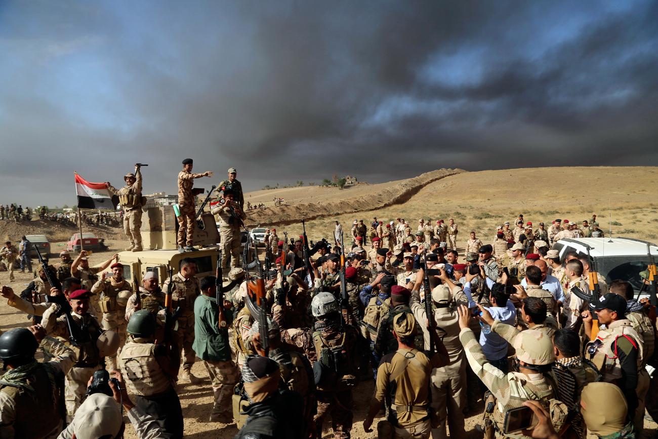 """""""Estado Islâmico goza de grande apoio entre civis"""", diz curdo sobre Mosul width="""