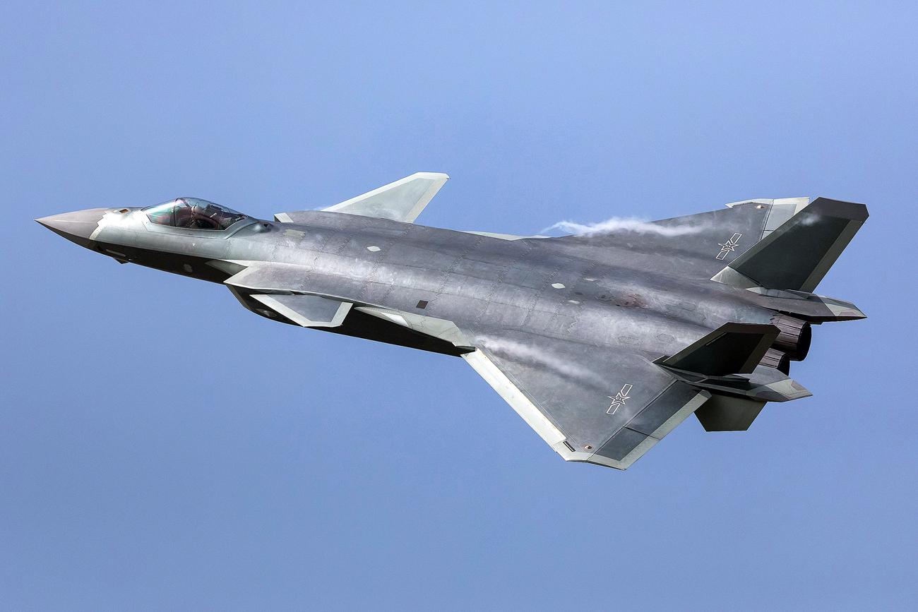 Jet Tempur J-20: Teknologi Tiongkok dan Mesin Rusia dalam Satu Pesawat