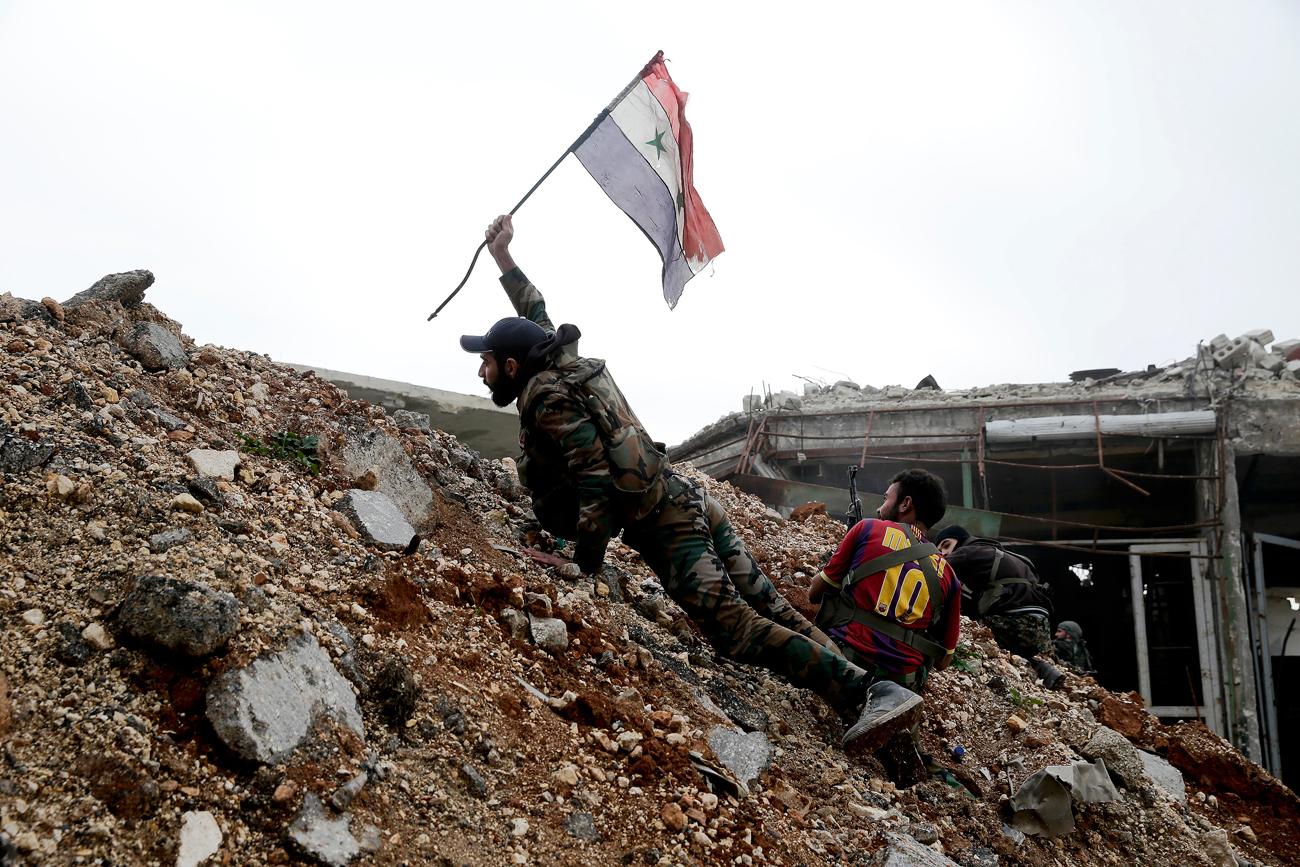Tentara Suriah Umumkan Kemenangan di Aleppo