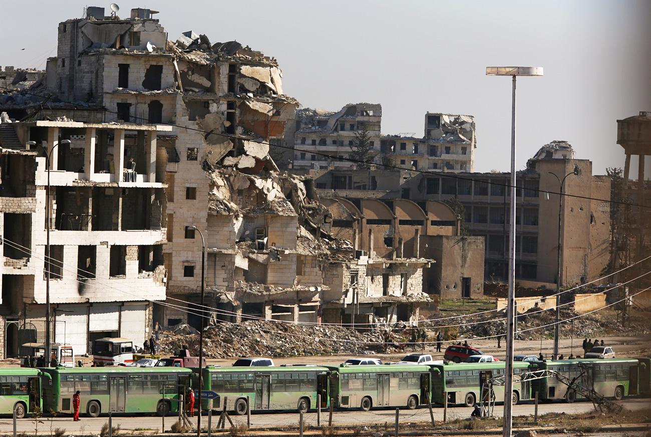 Jurnalis di Aleppo: Tulisan Saya dan Media Rusia Sejalan dengan Kebenaran