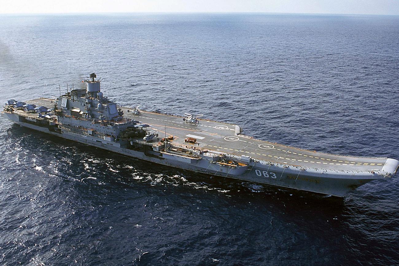 Dimodernisasi, Kapal Induk Rusia Akan Dilengkapi Sistem Tempur Canggih