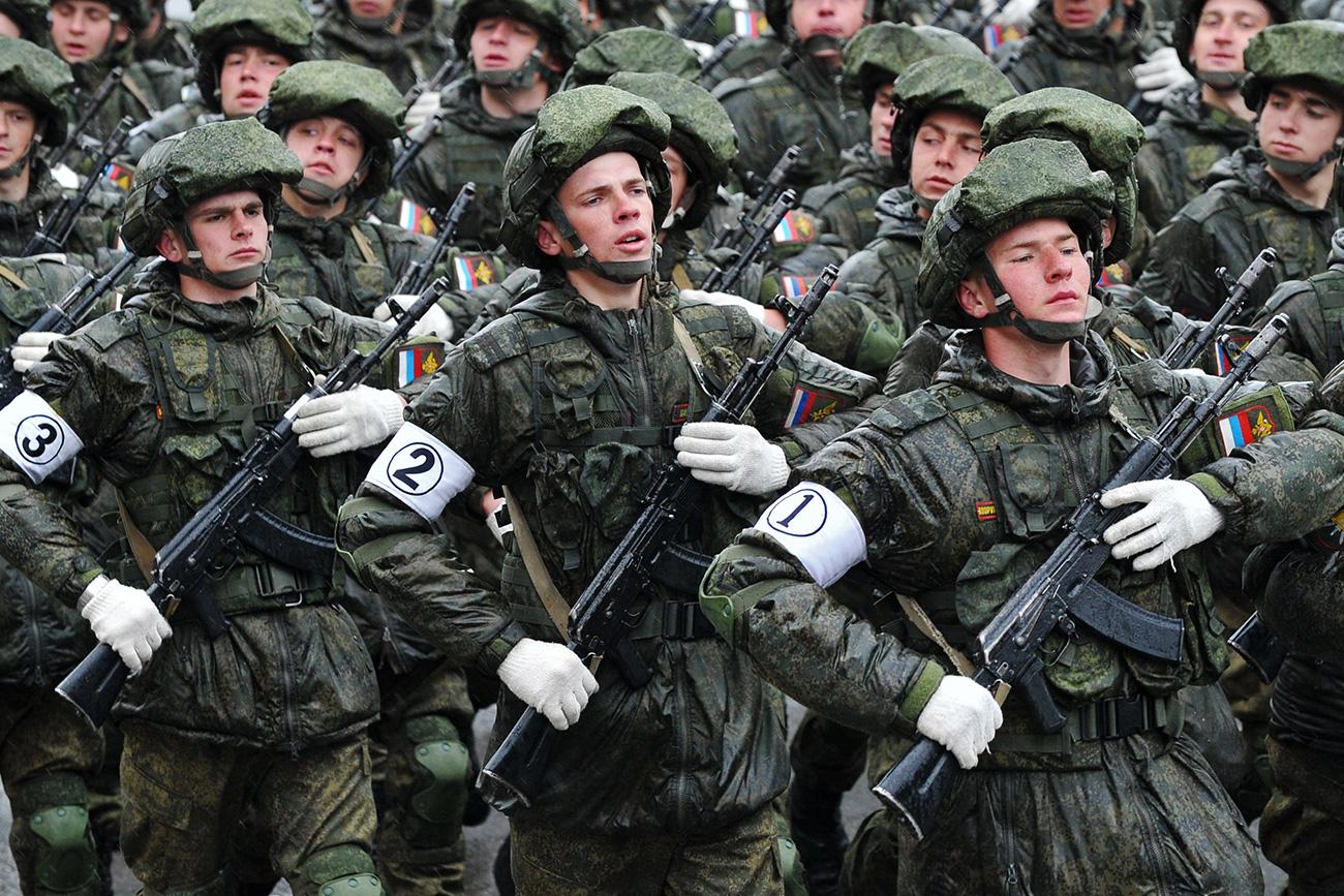 The Russian budget in 2016 allocated $69.2 billion to military purposes. Source: Sergey Pivovarov/RIA Novosti