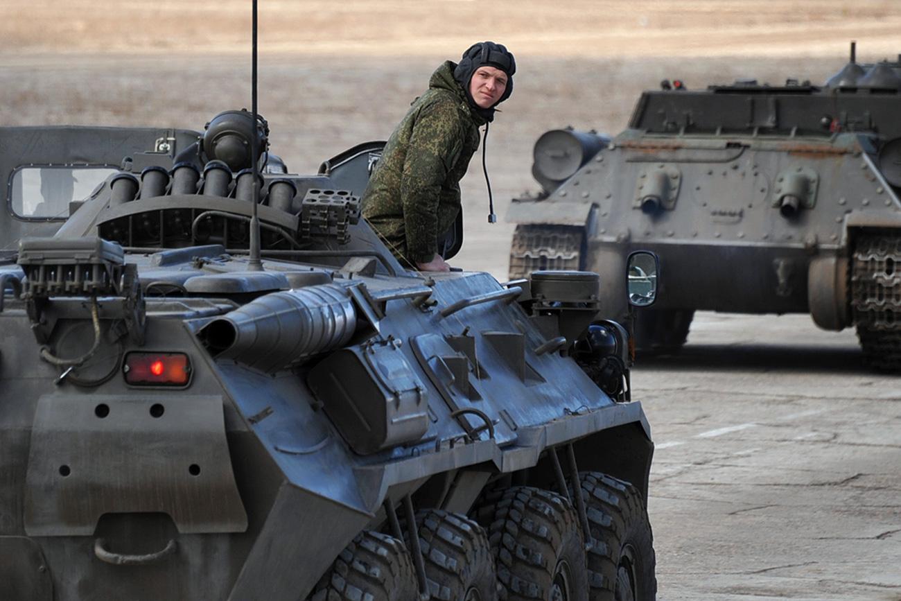 Kerahkan Peralatan Militer ke Perbatasan Korut, Apakah Rusia Siap Perang?