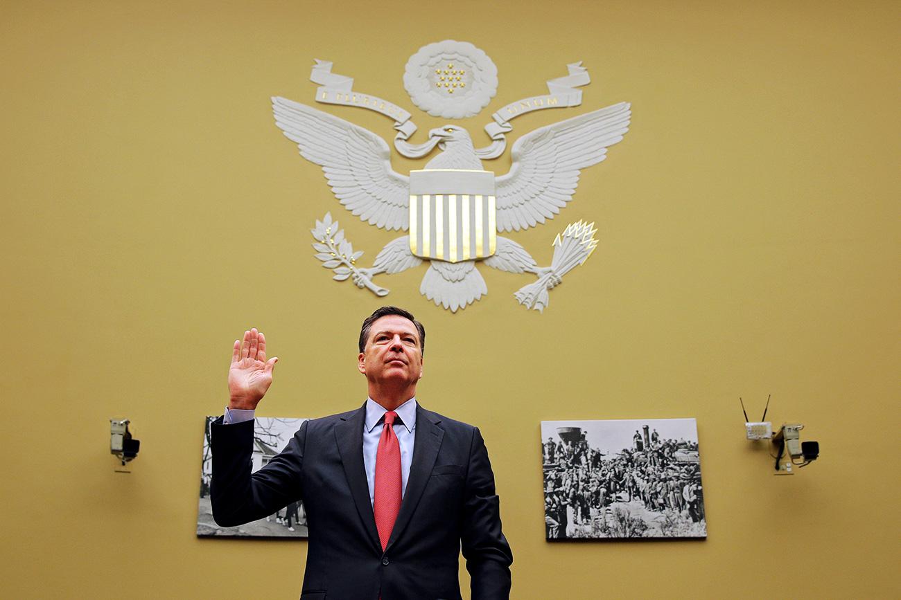 Bagaimana Kaitan Rusia dengan Pemecatan Direktur FBI James Comey?