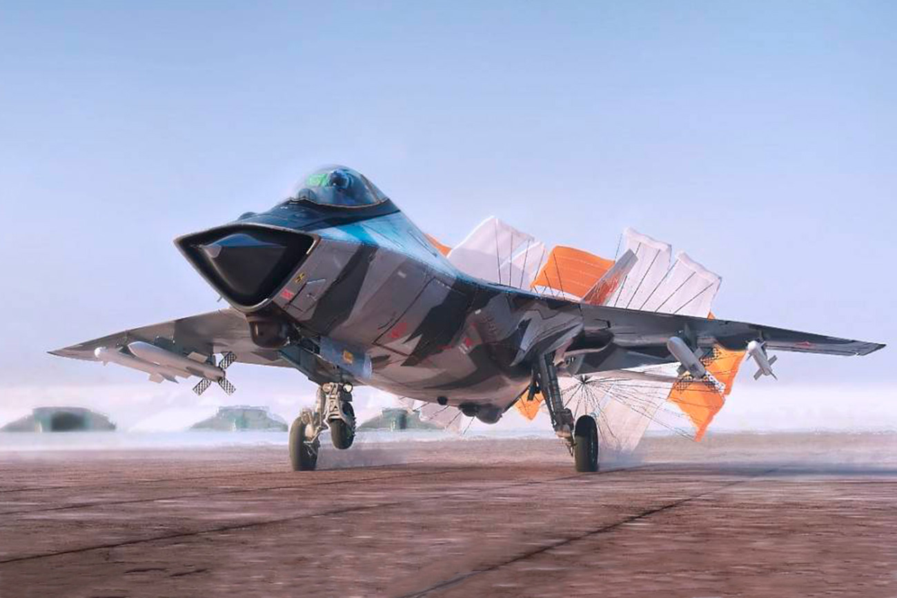 Bagaimana Rusia Merancang Jet Tempur Generasi Keenam?