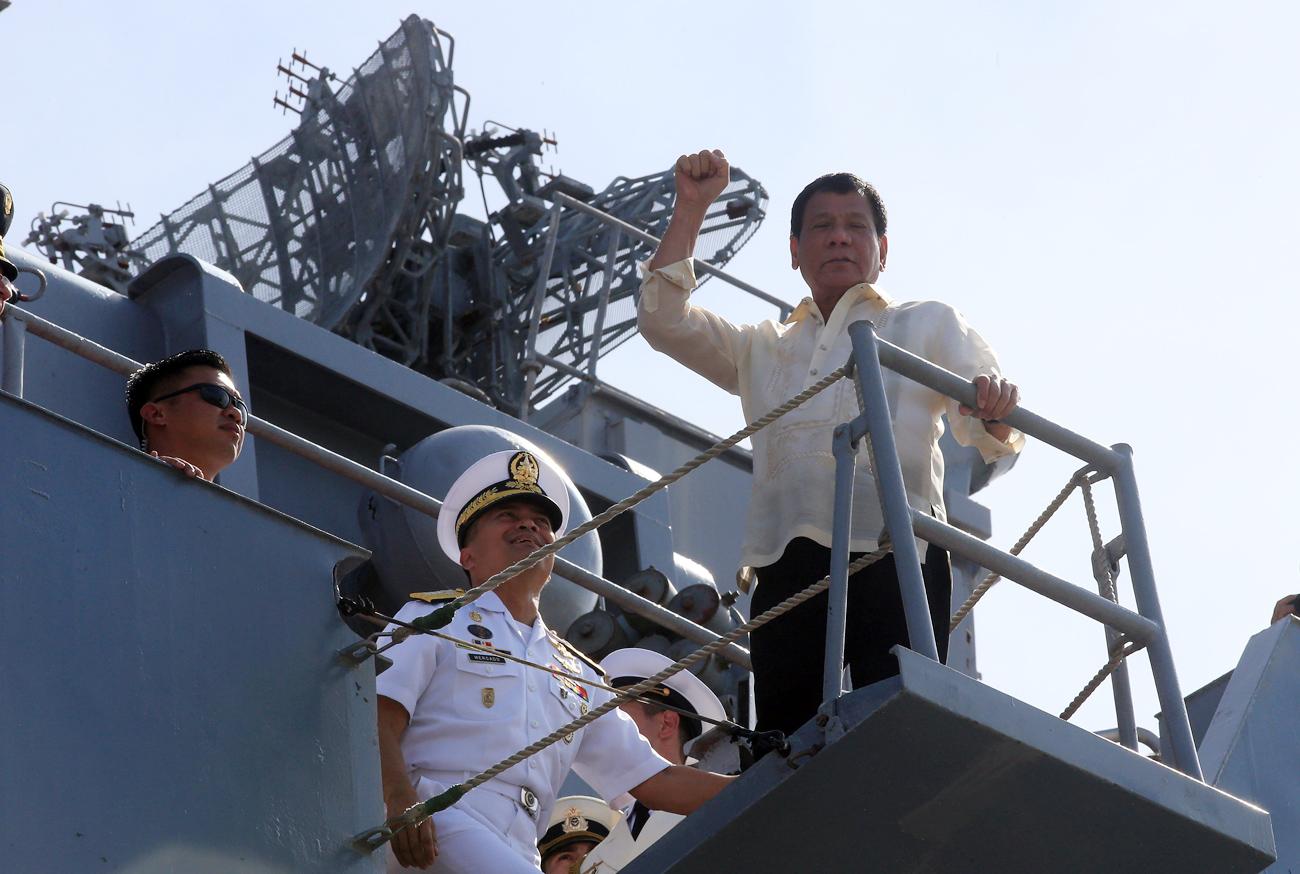 Geser AS, Rusia Bisa Penuhi Kebutuhan Persenjataan Filipina