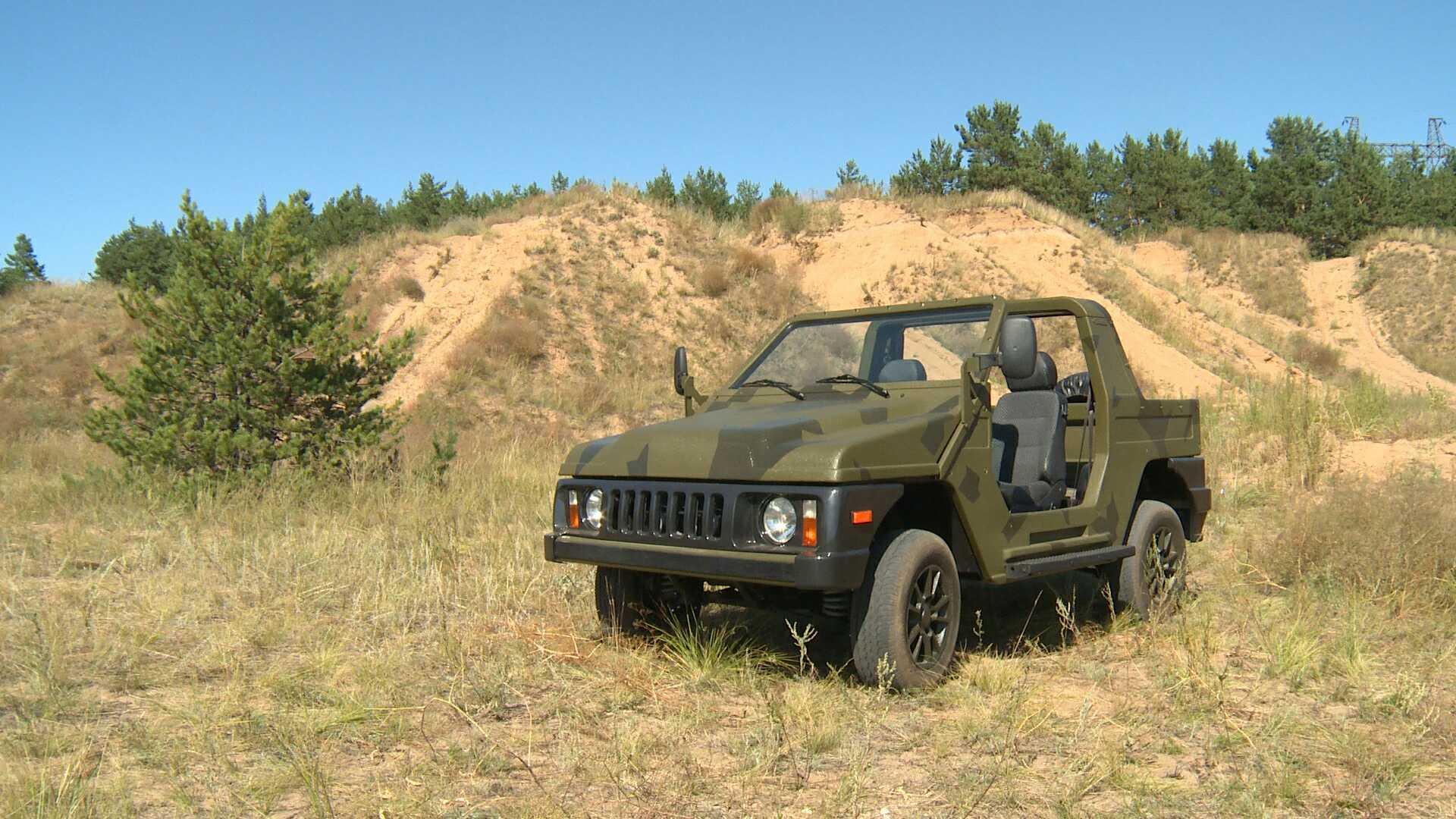 Tanpa Atap dan Pintu, Mobil Terbaru Tentara Rusia Tahan Api dan Antibeku