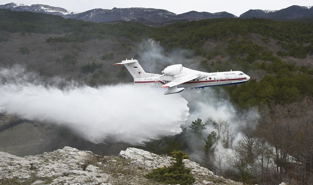 Indonesia Incar Pesawat Amfibi Be-200 Rusia