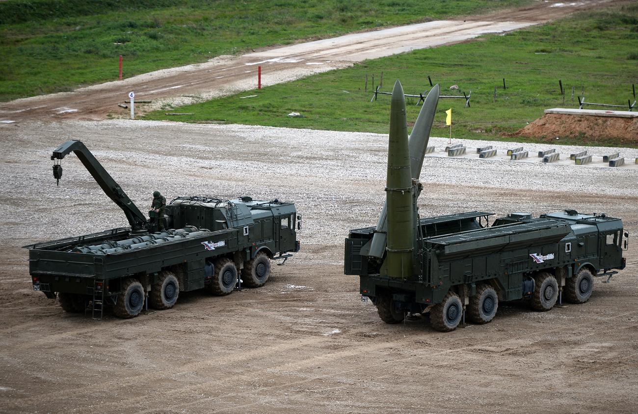 Rusia 'Sengaja Tempatkan' Misil Iskander di Bawah Satelit AS