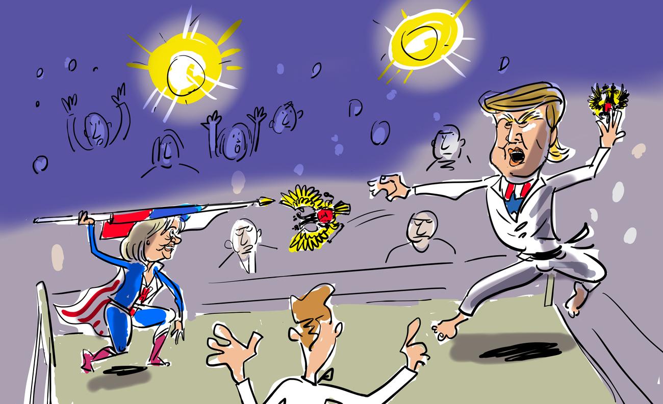 Hillary, Trump e il ruolo degli Stati Uniti nel mondo