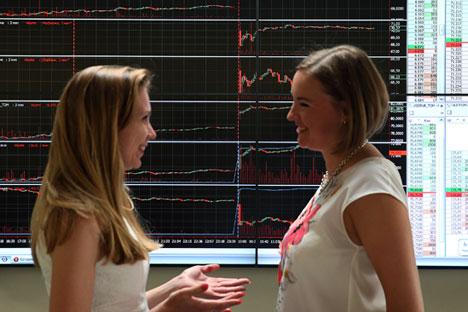 Indeks Perusahaan Negara Muncul di Bursa Efek Moskow