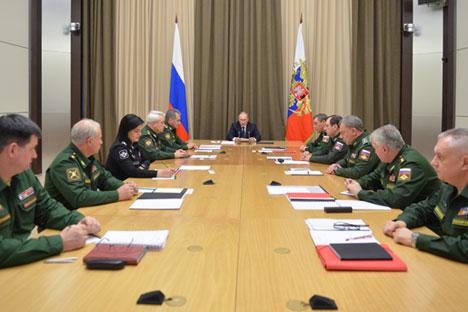 Putin Tanda Tangani Rancangan Pertahanan Terbaru Rusia