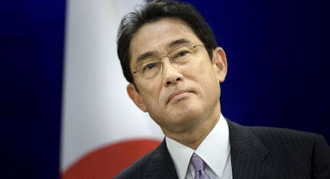 Japanese Foreign Minister Fumio Kishida.