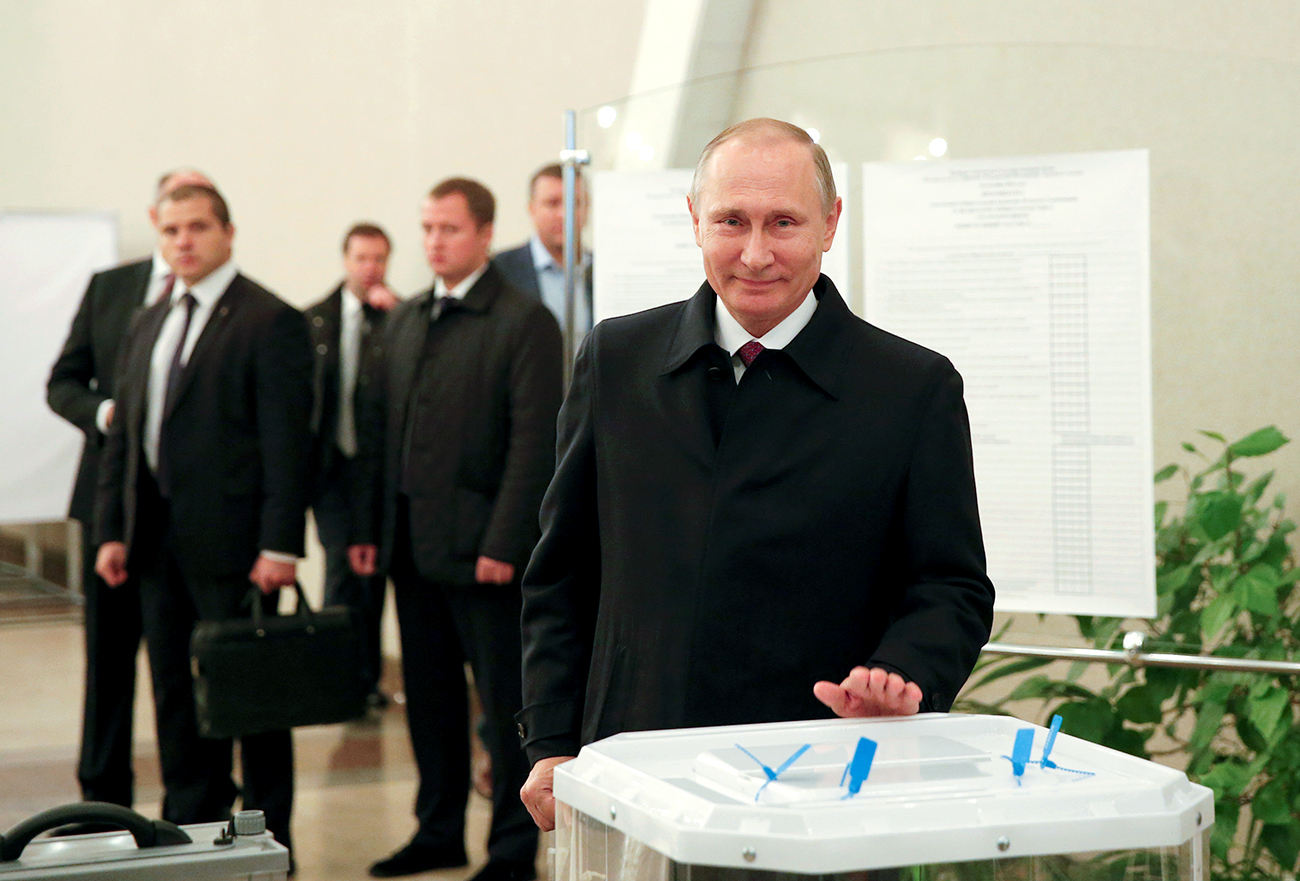 Who will be Russia's next president?