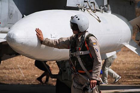 Operasi di Suriah Tingkatkan Pamor Senjata Buatan Rusia