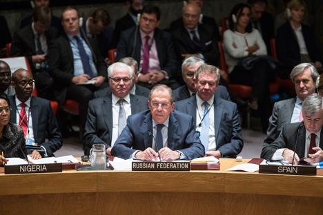 Menlu Lavrov: Tidak Ada Tanda-tanda AS Memerangi Teroris di Suriah