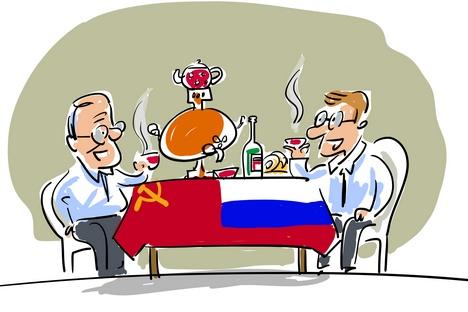 Como vivem os russos desde o início da época pós-soviética width=