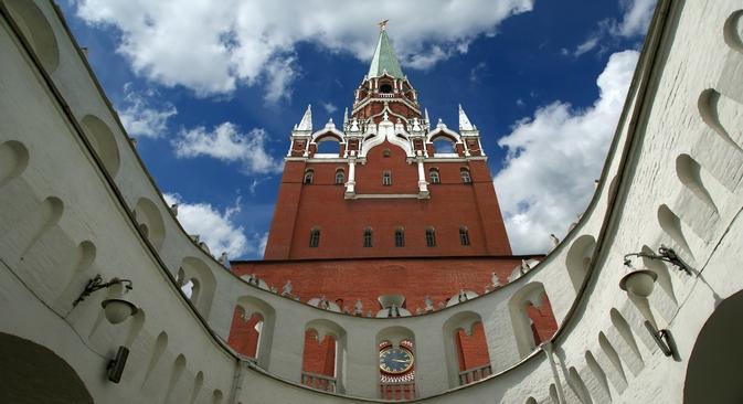 Cinco atrações secretas do Kremlin de Moscou width=