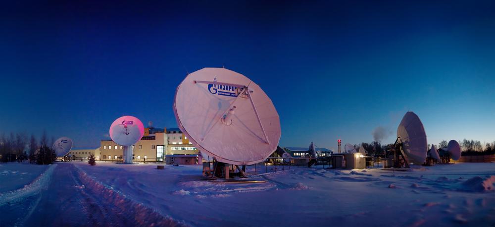 Empresa de gás Gazprom inicia atuação na área espacial width=