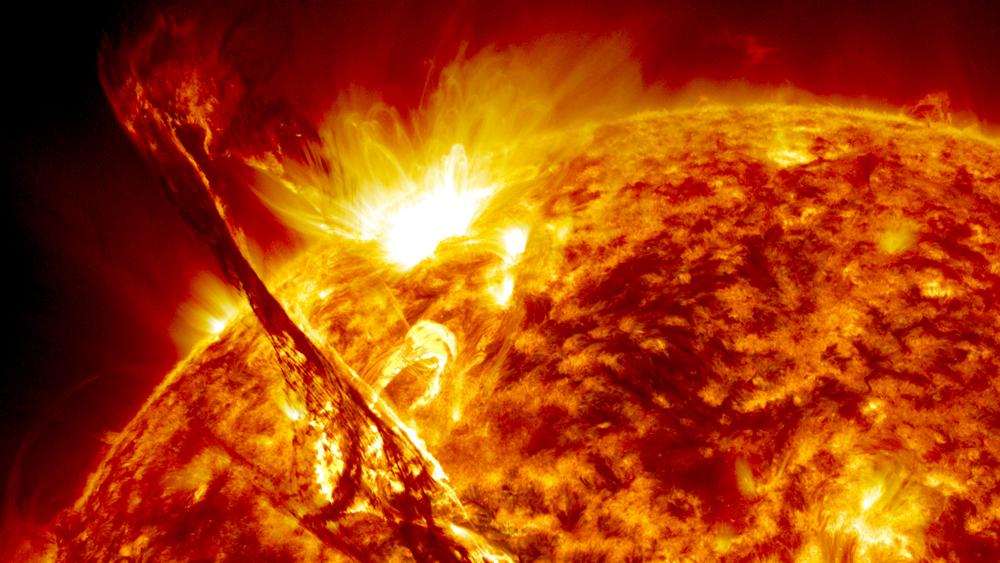 Estudo avaliará efeito do Sol sobre satélites e foguetes width=