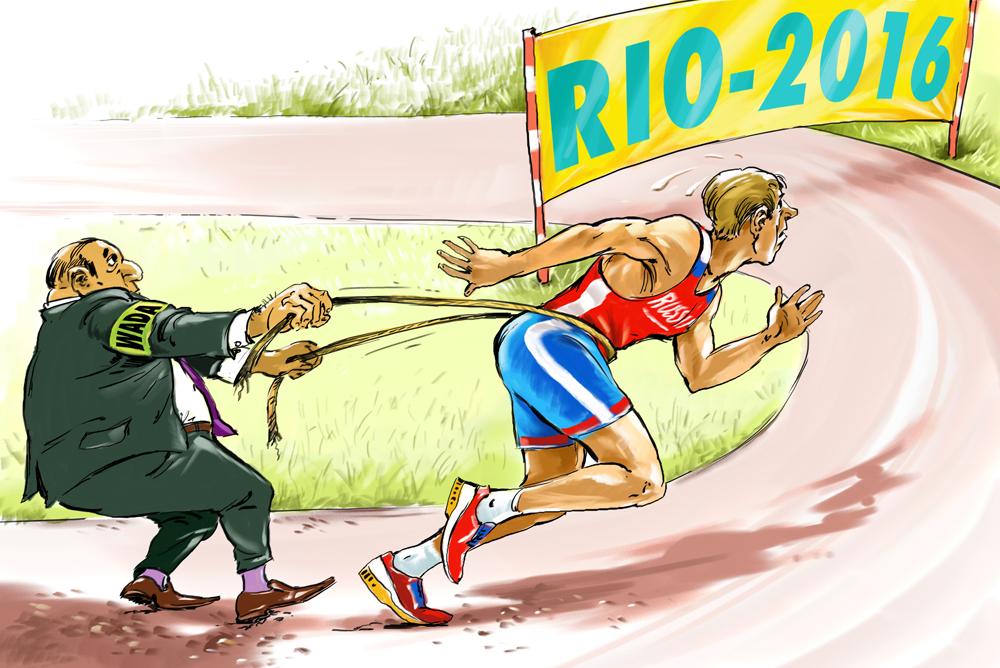 Doping, esportes e sanções width=