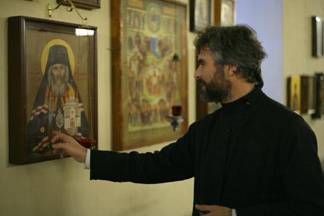 Priester Thomas Diez. Foto: Nuriya Fatykhova