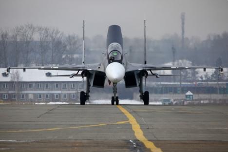 2017, Aviasi Armada Baltik Akan Terima Jet Tempur Sukhoi-30SM