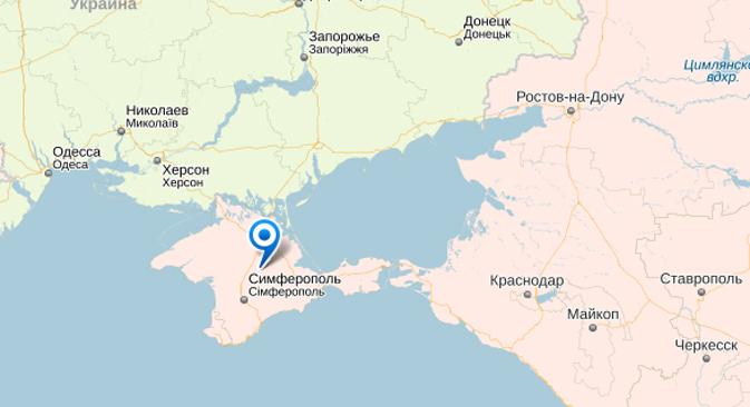Questão territorial da Crimeia movimenta redes sociais width=