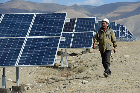 A sunny future in Russia: Developing alternative energy sources