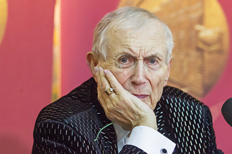 Yevgeny Yevtushenko: 'We need to defuse violence, anger and hatred wherever we find them.' Source: Sergei Kuksin / RG