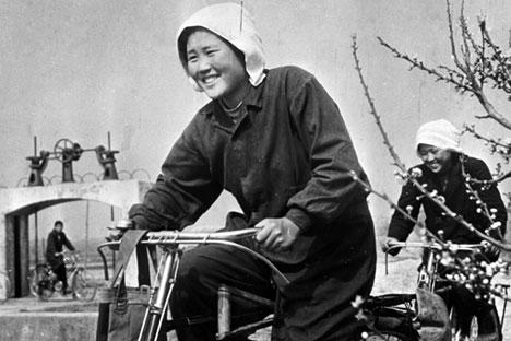 A Korean farmer in the USSR. Source: RIA Novosti