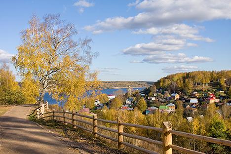 ¿Cómo es el otoño en Rusia?