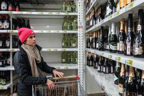vinos en rusia