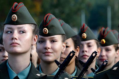 ejército femenino