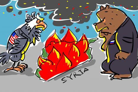 La falta de unidad amenaza con entregar Siria al Estado Islámico