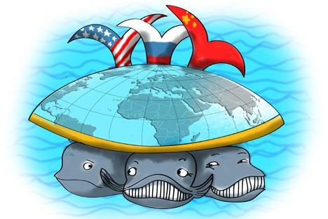 Segitiga strategis di Timur: China-Rusia-AS