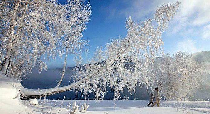 Tujuh Tempat Terbaik untuk Menikmati Musim Dingin Rusia