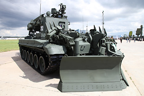 Lima Kendaraan Canggih Pasukan Zeni Rusia