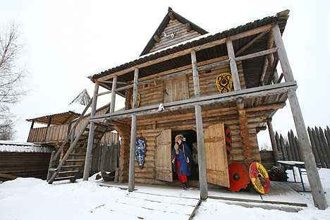 Keunikan Rumah Izba Rusia