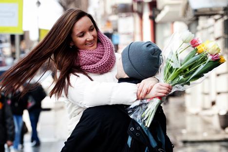 Perayaan Hari Perempuan di Rusia