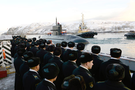 Layner, Rudal Balistik Baru Kapal Selam Rusia